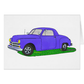 50 Plymouth Business coupe Card