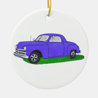 50 Plymouth Business coupe Ceramic Ornament