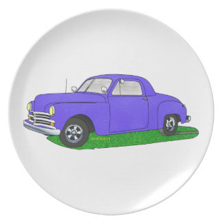 50 Plymouth Business coupe Dinner Plate