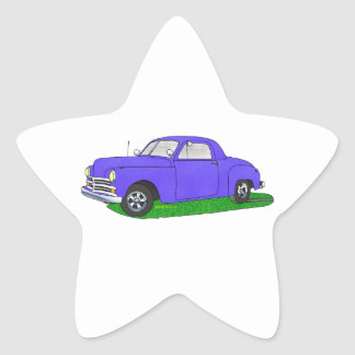50 Plymouth Business coupe Star Sticker