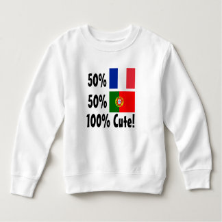 50% Portuguese 50% French 100% Cute T-shirt