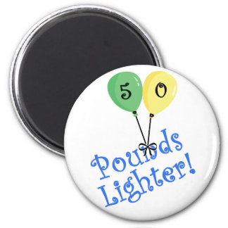 50 Pounds LIghter 2 Inch Round Magnet