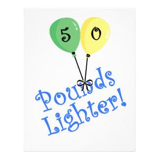 "50 Pounds LIghter 8.5"" X 11"" Flyer"