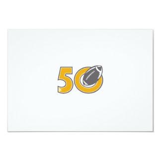 50 Pro Football Championship Ball Card