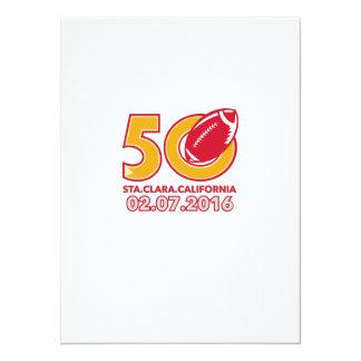 50 Pro Football Championship Santa Clara Card