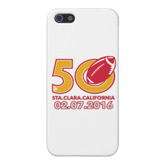 50 Pro Football Championship Santa Clara Cover For iPhone SE/5/5s