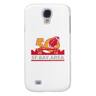 50 Pro Football Championship SF Bay Area 2016 Samsung Galaxy S4 Covers