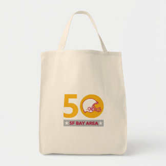 50 Pro Football Championship SF Bay Area Tote Bag