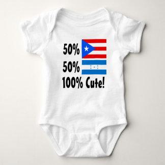 50% Puerto Rican 50% Honduran 100% Cute Baby Bodysuit