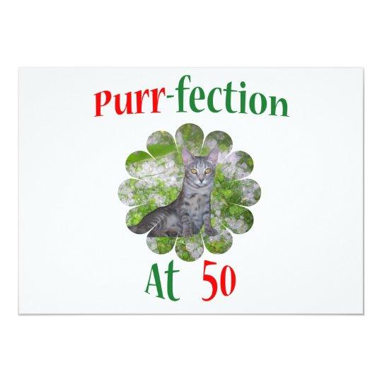 50 Purr-fection Card