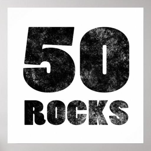 50 rocas impresiones