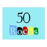 50 Rocks Postcards