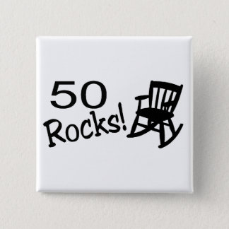 50 Rocks (Rocker) Button