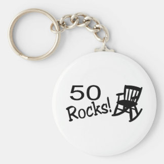 50 Rocks (Rocker) Keychain