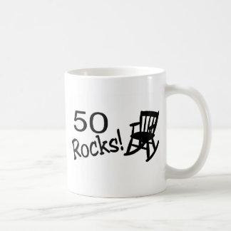 50 Rocks (Rocker) Classic White Coffee Mug