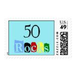 50 Rocks Stamp