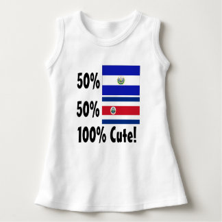 50% Salvadorian 50% Costa Rican 100% Cute Dress