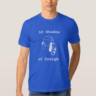 50 Shades of Creigh Basketball T-Shirt