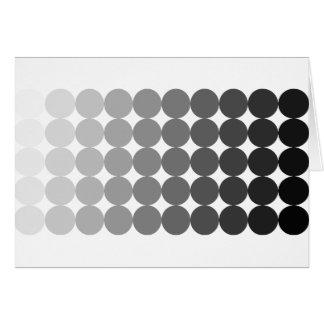 50 Shades of Grey Circles Card