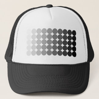 50 Shades of Grey Circles Trucker Hat