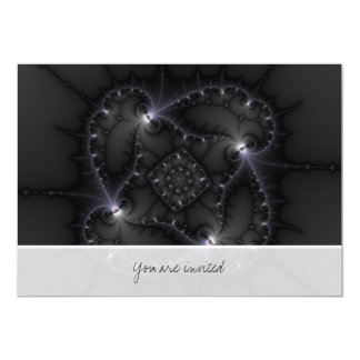 50 Shades Of Grey - Fractal Art Card