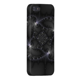 50 Shades Of Grey - Fractal Art Case For iPhone SE/5/5s