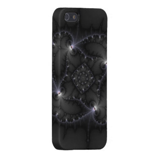 50 Shades Of Grey - Fractal Art iPhone 5 Cover