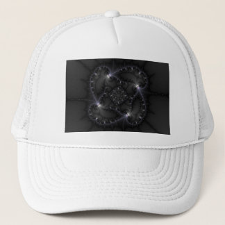 50 Shades Of Grey - Fractal Art Trucker Hat
