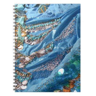 50 Shades of Turquoise Spiral Notebook