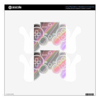 50 shadesof the rainbow PS3 controller decal
