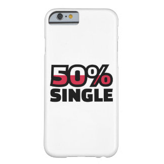 50% Single Barely There iPhone 6 Case