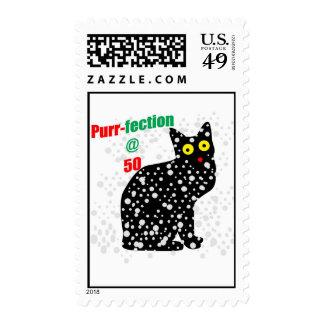 50 Snow Cat Purr-fection Stamps
