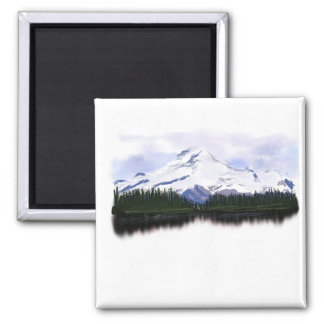 50 - Snow mountains Magnet