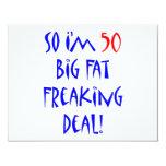 50 So I'm 50 ... Personalized Invites