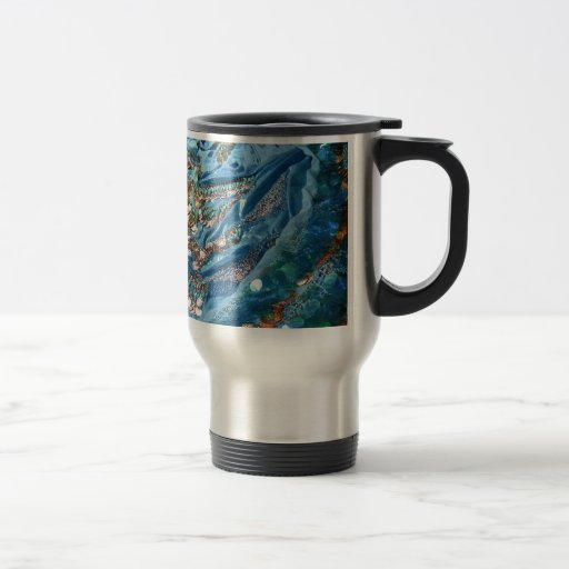 50 sombras de turquesa taza de café