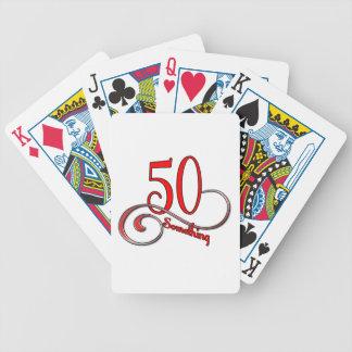 50 Something Bicycle Playing Cards