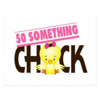 50-Something Chick 1 Postcard