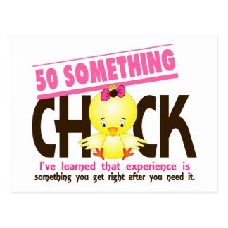 50-Something Chick 2 Postcard