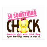 50-Something Chick 3 Post Card
