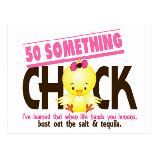 50-Something Chick 4 Postcard