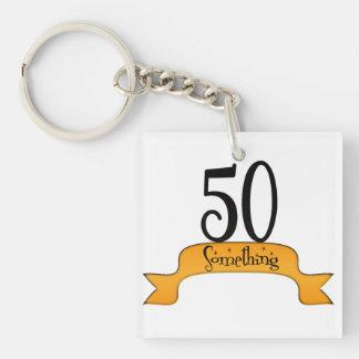 50 Something Keychain