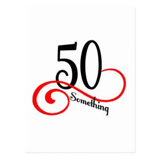 50 Something Postcard
