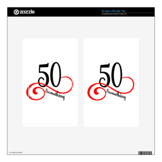 50 Something Skin For Kindle Fire