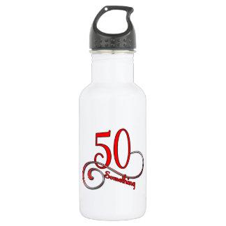 50 Something Water Bottle