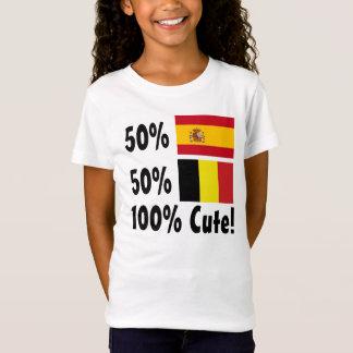 50% Spanish 50% Belgian 100% Cute T-Shirt