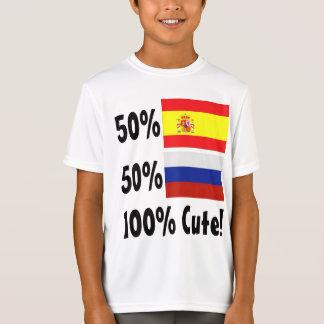 50% Spanish 50% Russian 100% Cute T-Shirt