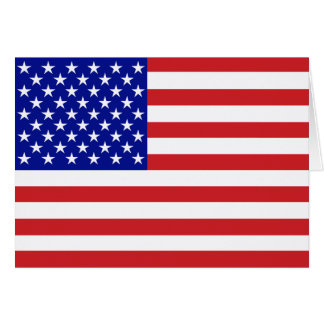 50-Star United States Flag Card