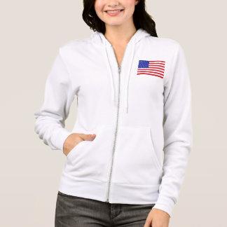 50-Star United States Flag Hoodie