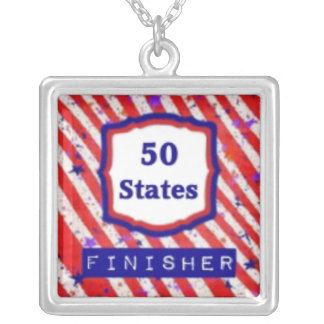 50 States Finisher by Vetro Jewelry