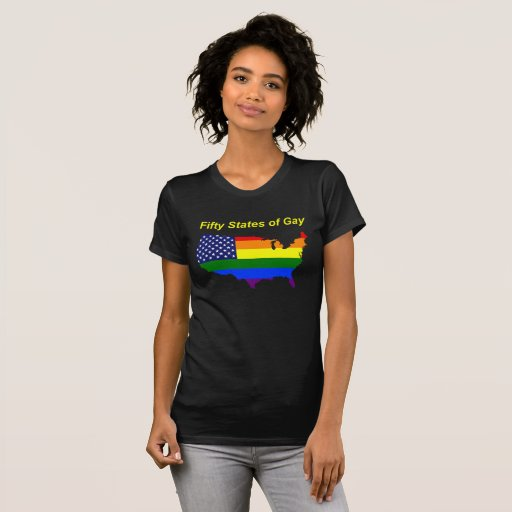 '50 States of Gay' Tee